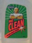 Mr. Clean bottle label